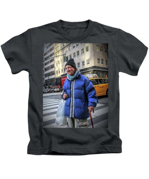 Man Vs. City Kids T-Shirt