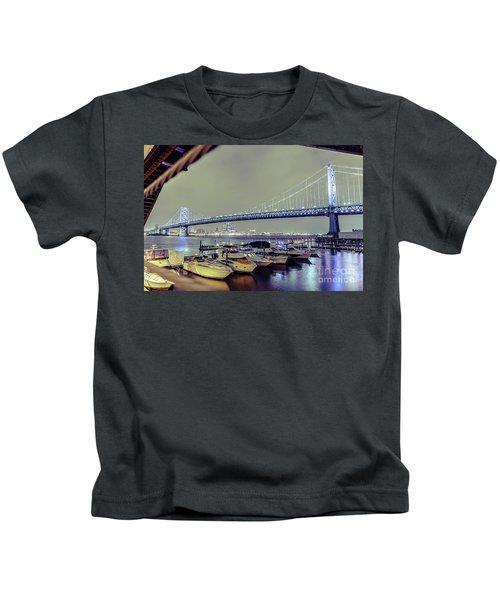 Marina Lights Kids T-Shirt