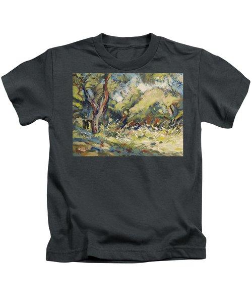Marmari Olive Orchard Paxos Kids T-Shirt