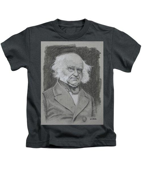Martin Van Buren Kids T-Shirt