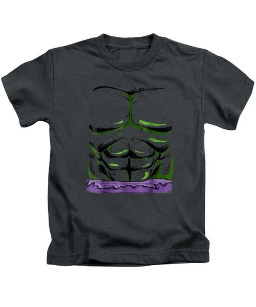 Marvel Incredible Hulk Halloween Costume Graphic T-shirt Kids T-Shirt