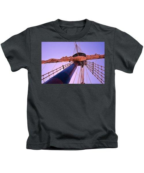 Mast And Sails Kids T-Shirt