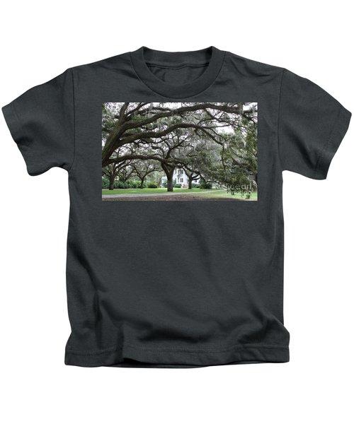 Mcleod Plantation Kids T-Shirt