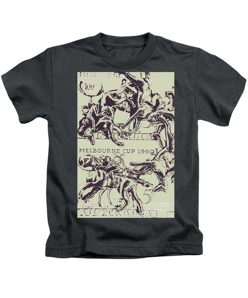 Melbourne Cup 1960 Kids T-Shirt
