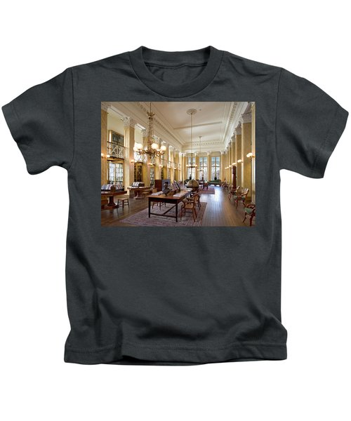 Members' Reading Room Kids T-Shirt