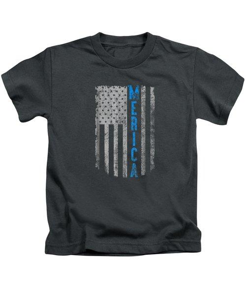 'merica American Flag Vintage Men Women Gift 2018 T-shirt Kids T-Shirt