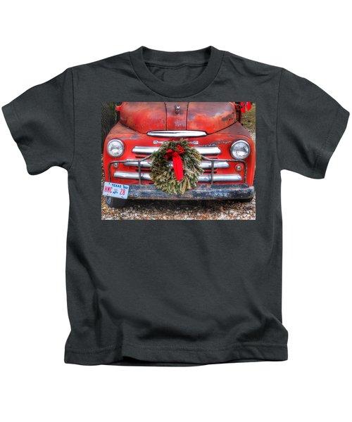 Merry Christmas Texas Kids T-Shirt
