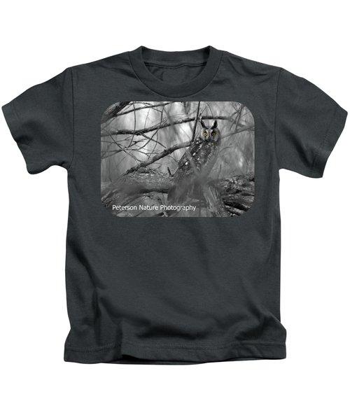 Mesmerizing Eyes Kids T-Shirt