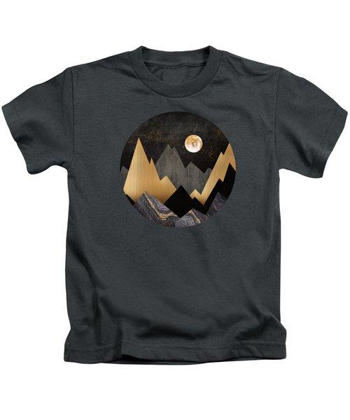 Metallic Night Kids T-Shirt