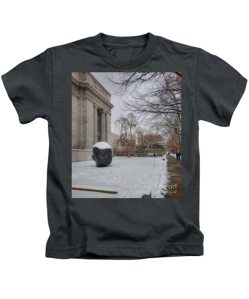 Mfa Boston Winter Landscape Kids T-Shirt