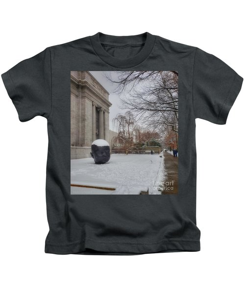 Mfa Boston Winter Landscape Kids T-Shirt