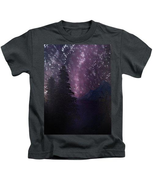 Milky Way Lake Kids T-Shirt
