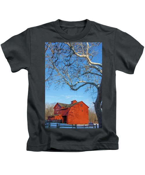 Mill And Tree Kids T-Shirt