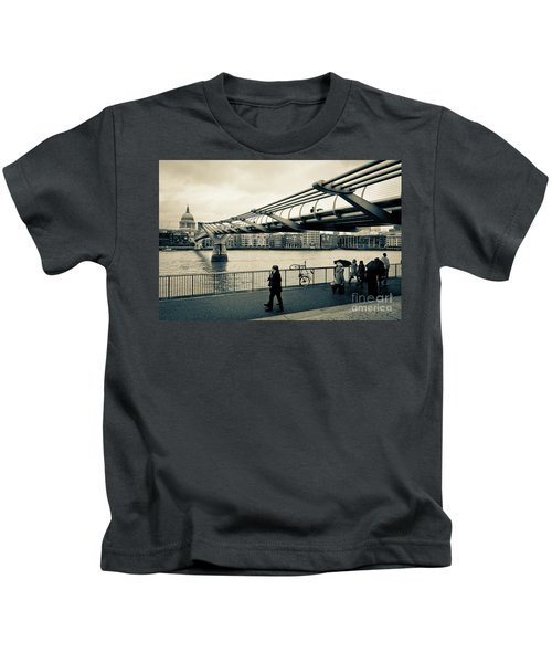 Millennium Bridge 03 Kids T-Shirt