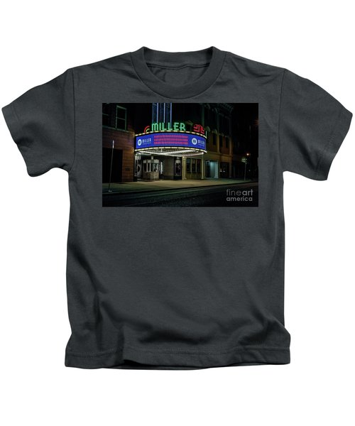 Miller Theater Augusta Ga Kids T-Shirt