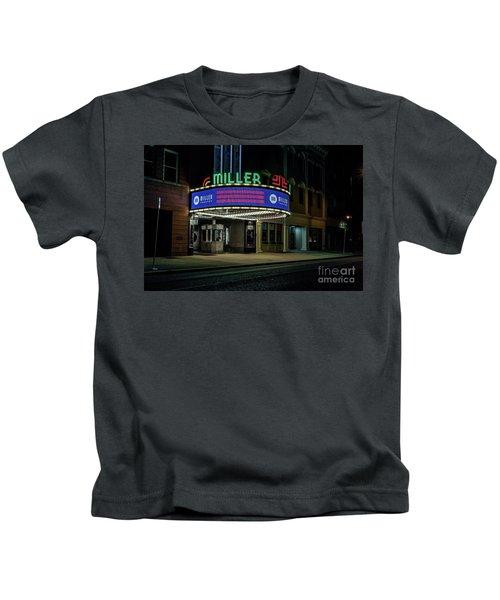 Miller Theater Augusta Ga Kids T-Shirt
