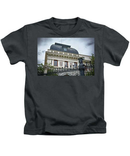 Ministry Of Agriculture Building Of Madrid Kids T-Shirt