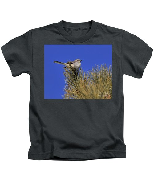 Mockingbird In White Pine Kids T-Shirt