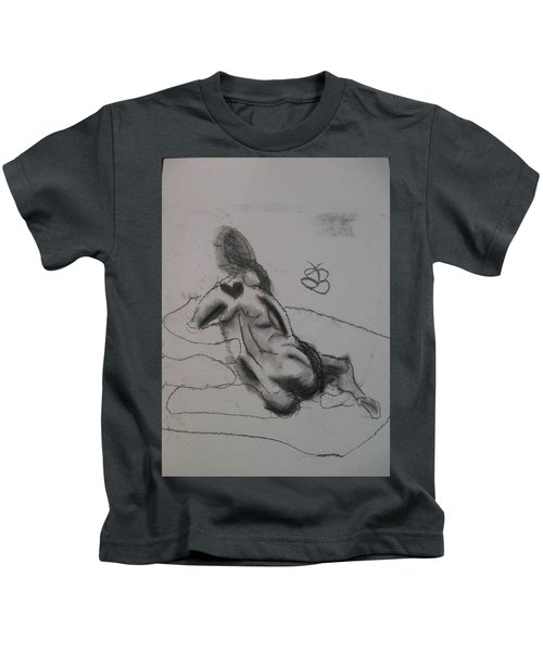 model named Chieh one Kids T-Shirt