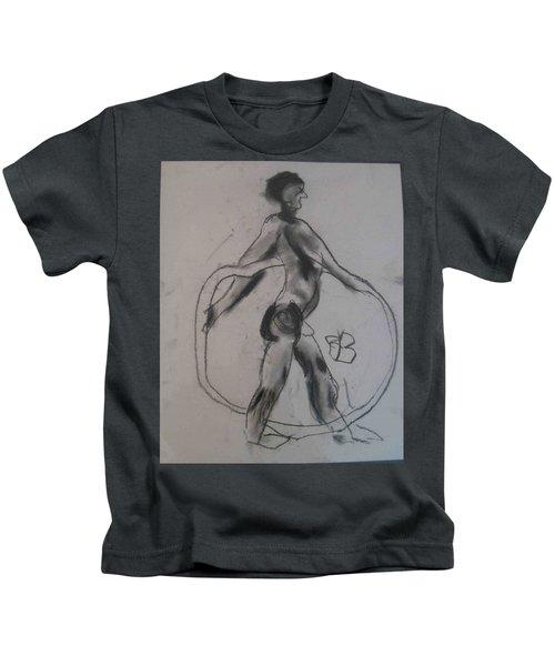 model named Guy Kids T-Shirt