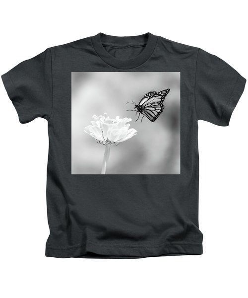 Monarch In Infrared 6 Kids T-Shirt