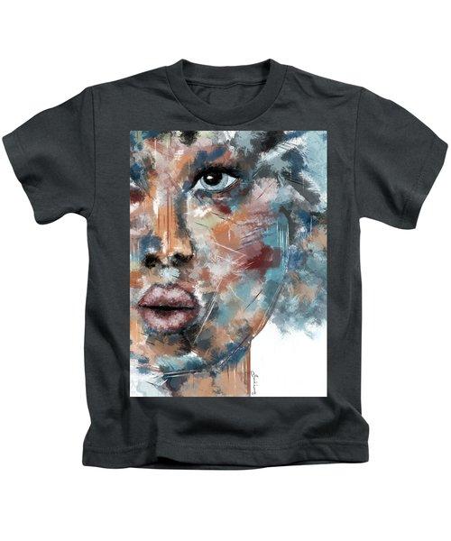 Moonshine-woman Abstract Art Kids T-Shirt