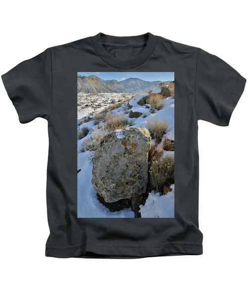 Morning At The Book Cliffs Kids T-Shirt