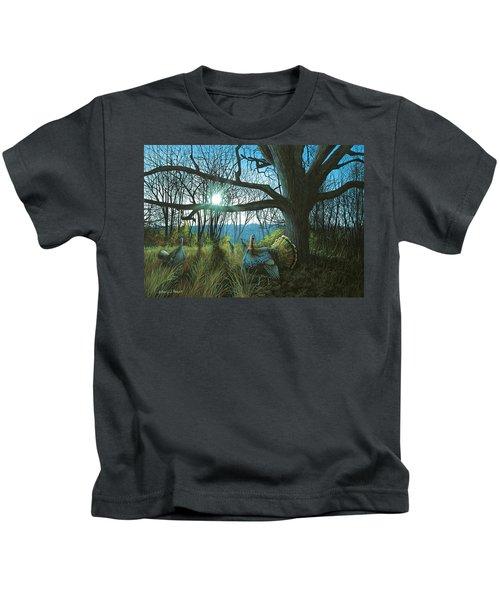 Morning Chat - Turkey Kids T-Shirt