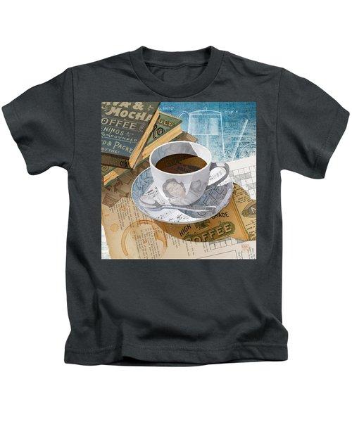 Morning Coffee Kids T-Shirt