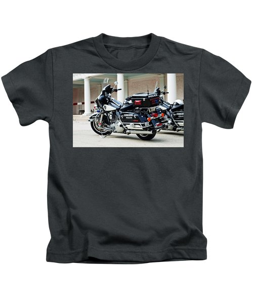 Motorcycle Cruiser Kids T-Shirt