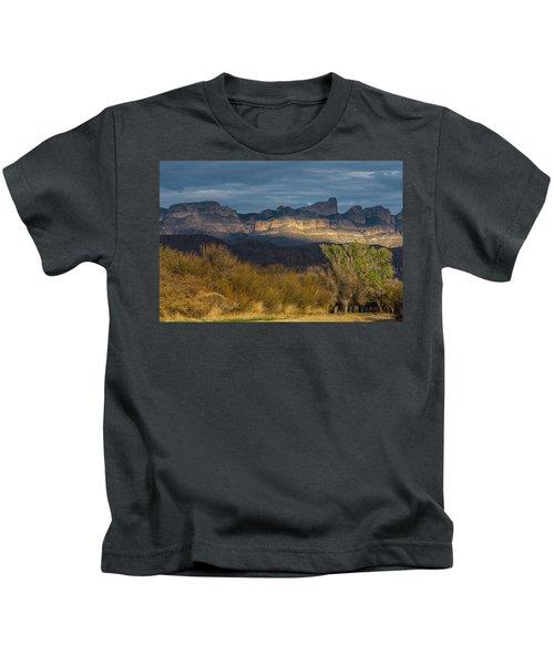Mountain Illumination Kids T-Shirt