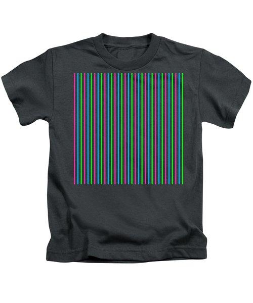Multiple Line Design - Dde444 Kids T-Shirt
