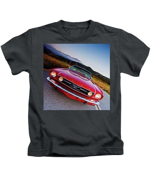 Mustang Convertible Kids T-Shirt