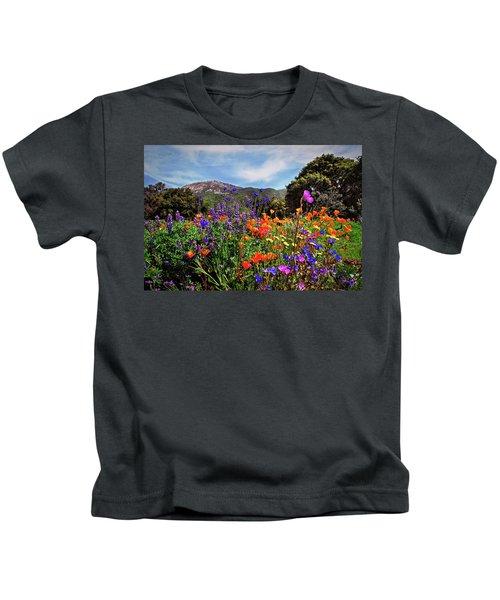 Nature's Bouquet  Kids T-Shirt