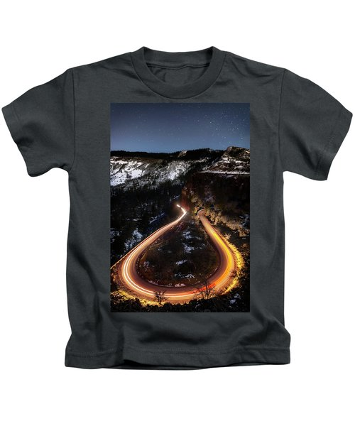 Night At Rowena Crest Kids T-Shirt