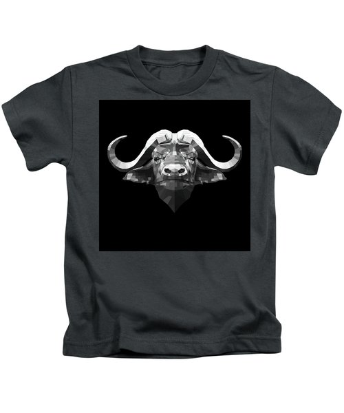 Night Buffalo Kids T-Shirt