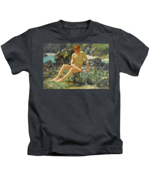 Nude On The Rocks, 1927 Kids T-Shirt