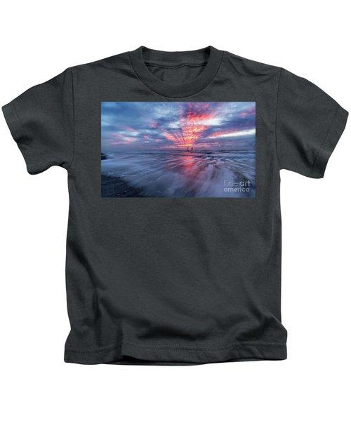 Ocean City Lights Kids T-Shirt