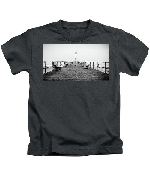 Ocean Grove Pier 1 Kids T-Shirt