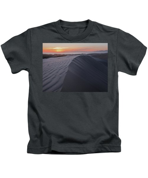 Oceano Dunes Sunset Kids T-Shirt