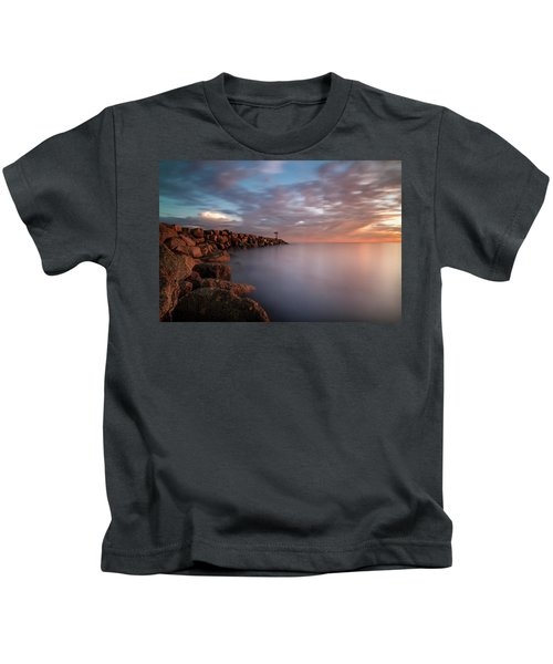Oceanside Jetty Kids T-Shirt