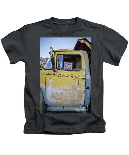 Old Vintage Dump Truck Kids T-Shirt