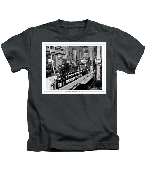 Olympia Brewing Company Bottling Line, 1920ca Kids T-Shirt