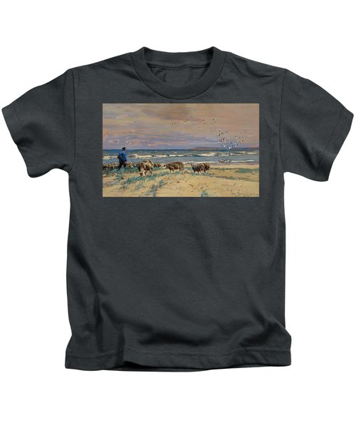 On The Baltic Sea Beach Kids T-Shirt