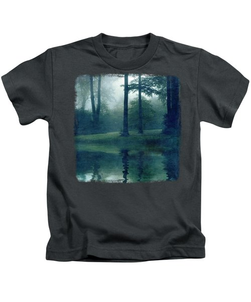 Out Of Reach - Forest Reflection Kids T-Shirt