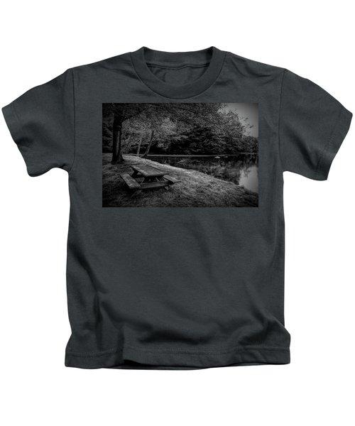 Overlooking The Sugar River Kids T-Shirt