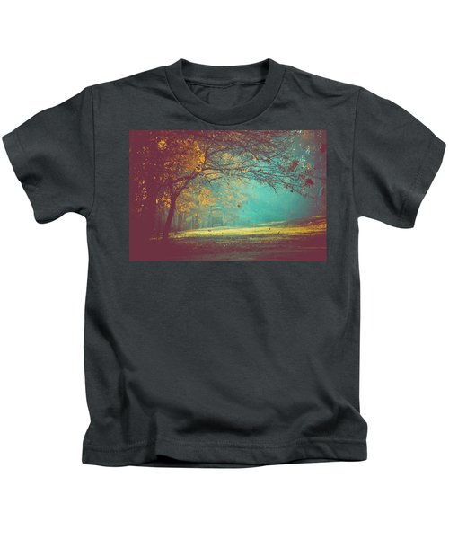Painted Sunrise Kids T-Shirt