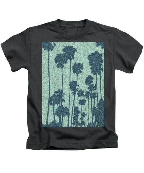 Palms Over Palisades No. 2 Kids T-Shirt