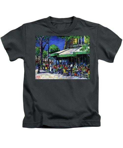 Parisian Cafe Kids T-Shirt