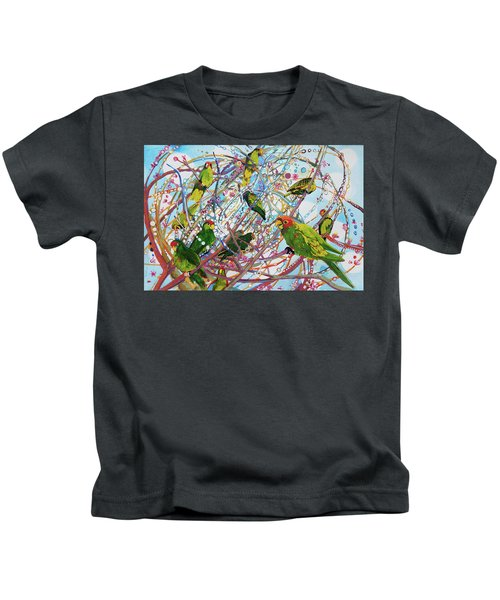 Parrot Bramble Kids T-Shirt
